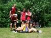 Letní AVL 2013 - sestava Laviny - 1. turnaj
