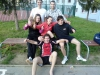 Volejbalový turnaj Mendelu - sestava Laviny