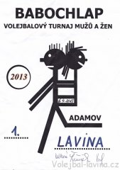 Babochlap 2013 v Adamově - diplom pro tým Lavina