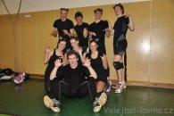 24 hodin volejbalu BSVL - sestava Laviny (kočky :-))