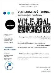 Turnaj výkonnostních volejbalistů MU 2013