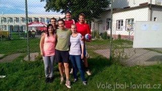 Burčákový turnaj Kyjov 2015 - sestava Laviny