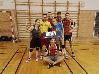 První turnaj zimní AVL 2015 - sestava Laviny