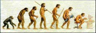 Evoluce člověka kancelářského