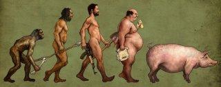 Evoluce člověka nenažraného