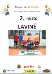 Mimoní outdoor turnaj - diplom pro Lavinu