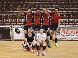 Grand prix volejbalu mixů Brno 2017 - sestava Laviny