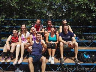 Čtvrtý turnaj letní AVL 2017 - sestava Laviny