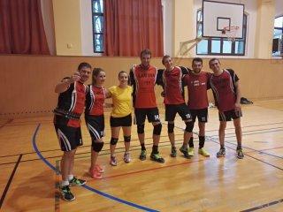 Vánoční turnaj AVL 2017 - sestava Laviny