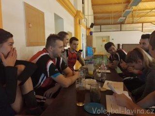 Třetí turnaj 2. ligy AVL 2018 - sestava Laviny