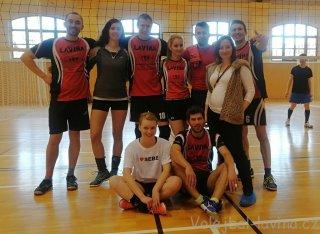 Pátý turnaj 2. ligy AVL 2018 - sestava Laviny