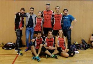 Pátý turnaj brněnské 2. ligy AVL 2019 - sestava Laviny