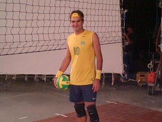 Roger Federer - volejbalista